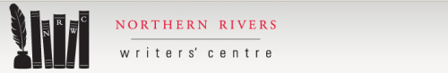 Logo of the Northern Rivers Writers Centre in Byron Bay, NSW, Australia